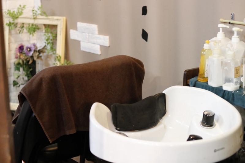 美容室のシャンプー台のフリー写真素材 | ニューファクトリー